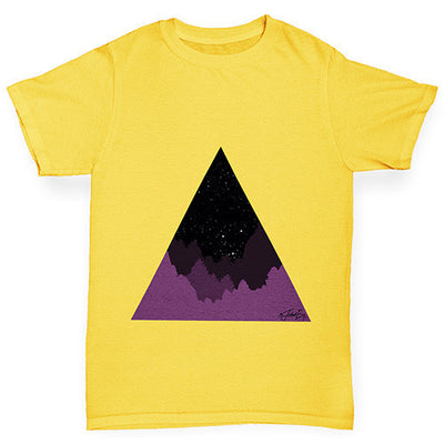 Triangle Landscape Boy's T-Shirt