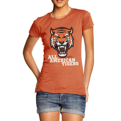 All American Tiger Women's T-Shirt