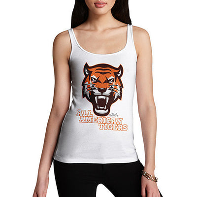 All American Tiger Women's Tank Top