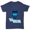 All American Wolves Boy's T-Shirt