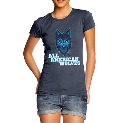 All American Wolves Women's T-Shirt