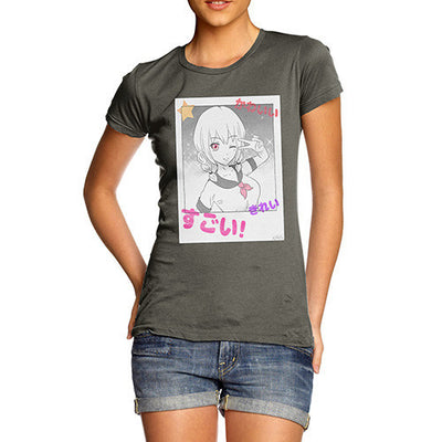Anime Polaroid Selfie Women's T-Shirt