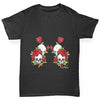 Skulls And Roses Boy's T-Shirt