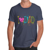 I Heart Dad Finger Paints Men's T-Shirt