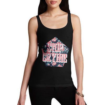Stop Crying Roses Women's Tank Top