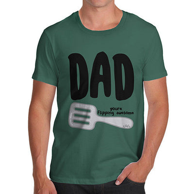 Dad You're Flipping Awesome Men's T-Shirt