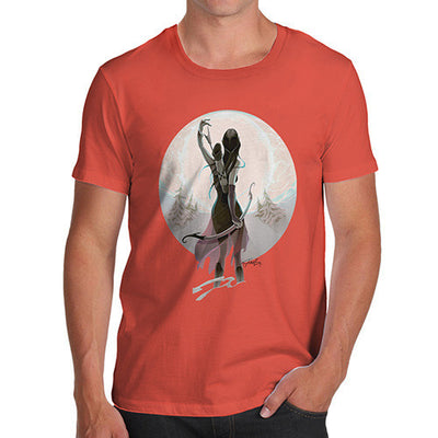 Elf With Bow Men's T-Shirt