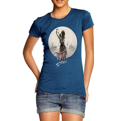Elf With Bow Women's T-Shirt