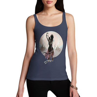 Elf With Bow Women's Tank Top