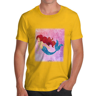 Watercolour Mermaid  Men's T-Shirt