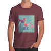 Pink Watercolour Mermaid Men's T-Shirt