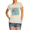 Pink Watercolour Mermaid Women's T-Shirt