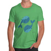 Yin & Yang Whales Men's T-Shirt