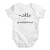 Nutella + Unicorns Baby Unisex Baby Grow Bodysuit