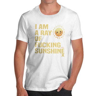 I Am A Ray Of F-cking Sunshine Men's T-Shirt