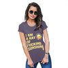 I Am A Ray Of F-cking Sunshine Women's T-Shirt