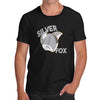 Novelty Gifts For Men Silver Fox Men's T-Shirt X-Large Black