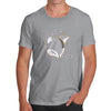 Funny T-Shirts For Men Silver Fox Men's T-Shirt X-Large Light Grey