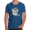 Funny Sarcasm T Shirt Silver Fox Men's T-Shirt X-Large Royal Blue