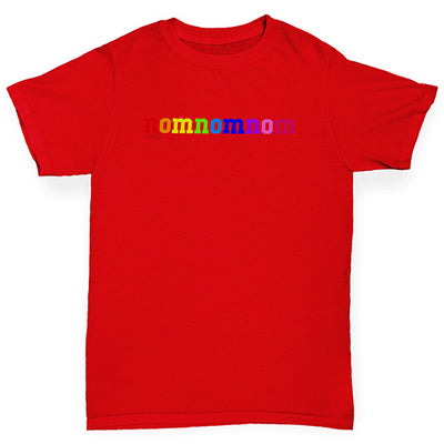 Rainbow Nomnomnom Girl's T-Shirt