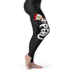 Peru Football Soccer Flag Paint Splat Women's Leggings