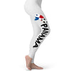 Panama Football Soccer Flag Paint Splat Women's Leggings