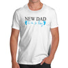 New Dad Boy Men's T-Shirt