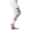 football Soccer Silhouette Portugal Women's Leggings