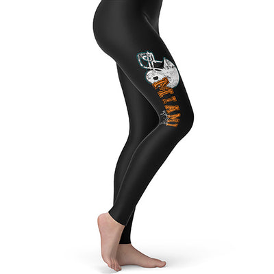 Miami American Football Established Women's Leggings