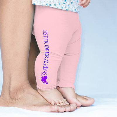 Sister Of Dragons Baby Leggings Pants