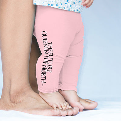 The Future Queen In The North Baby Leggings Pants