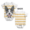 Boston Terrier Baby Unisex ALL-OVER PRINT Baby Grow Bodysuit