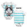 Husky Dog Baby Unisex ALL-OVER PRINT Baby Grow Bodysuit