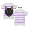Black Cat Baby Toddler ALL-OVER PRINT Baby T-shirt