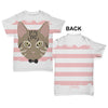 Tabby Cat Baby Toddler ALL-OVER PRINT Baby T-shirt