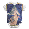 Howling Wolf Baby Unisex ALL-OVER PRINT Baby Grow Bodysuit