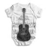 Guitar Music Notes Star Baby Unisex ALL-OVER PRINT Baby Grow Bodysuit