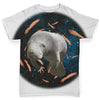 Space Bacon Manatee Baby Toddler ALL-OVER PRINT Baby T-shirt