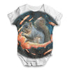 Space Bacon Squirrel Baby Unisex ALL-OVER PRINT Baby Grow Bodysuit