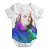 Benjamin Franklin Rapper Baby Unisex ALL-OVER PRINT Baby Grow Bodysuit