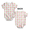 Cherry Blossom Pattern Baby Unisex ALL-OVER PRINT Baby Grow Bodysuit