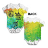 Rainbow Bird Cages Baby Unisex ALL-OVER PRINT Baby Grow Bodysuit