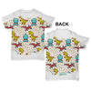 Baby Dinosaurs Baby Toddler ALL-OVER PRINT Baby T-shirt