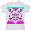 Geometric Tiger Face Baby Toddler ALL-OVER PRINT Baby T-shirt