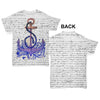 Book Print Sea Anchor Baby Toddler ALL-OVER PRINT Baby T-shirt