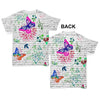 Book Print Butterflies And Flowers Baby Toddler ALL-OVER PRINT Baby T-shirt