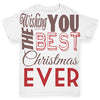 Wishing You The Best Christmas Baby Toddler ALL-OVER PRINT Baby T-shirt