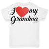 I Love My Grandma Baby Toddler ALL-OVER PRINT Baby T-shirt