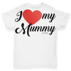 I Love My Mummy Baby Toddler ALL-OVER PRINT Baby T-shirt
