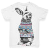 Christmas Jumper Bunny Baby Toddler ALL-OVER PRINT Baby T-shirt